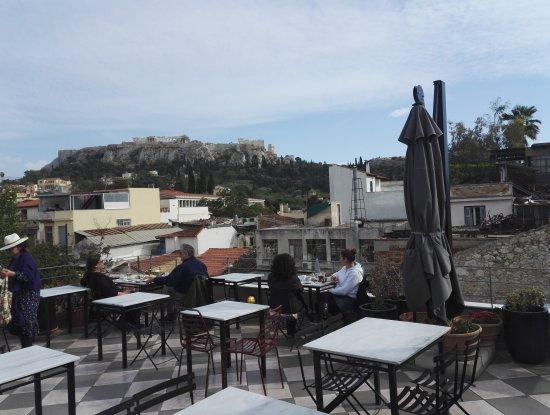 Cafe Avissinia: Un rooftop avec une vue magnifique