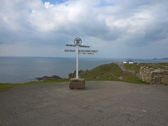 Sennen, UK: Signpost