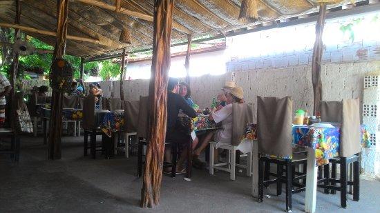 Mataraca, PB: Ambiente interno