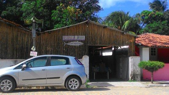 Mataraca, PB: Fachada externa