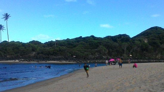 Mataraca, PB: Encontro do mar com o rio