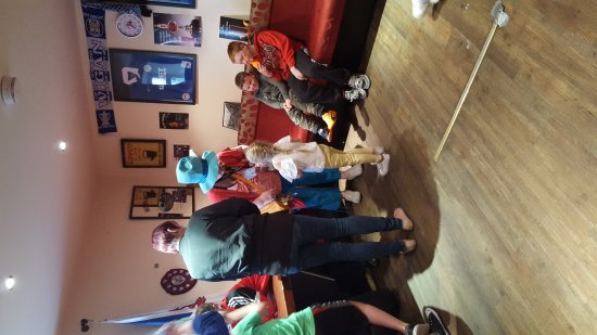 Merthyr Tydfil, UK: Charity day at the station hotel