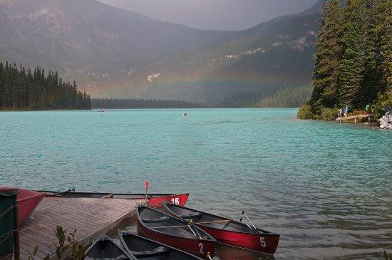 Field, Canada: Emerald Lake, Yoho National Park