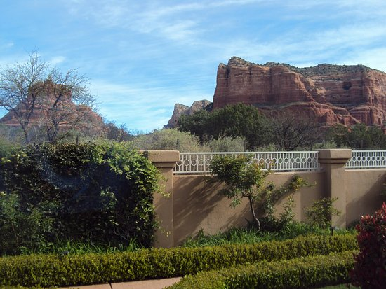 Canyon Villa Bed and Breakfast Inn of Sedona: The view from our patio.