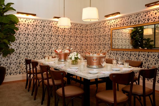 Montage Beverly Hills: Private dining at Clementine in Georgie