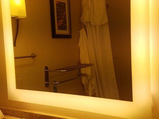 แครี, นอร์ทแคโรไลนา: Only mirror in whole suite.