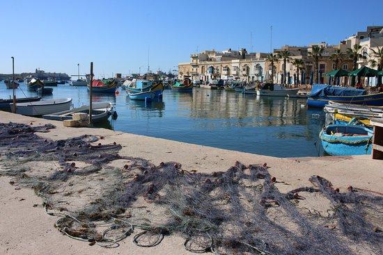 Marsaxlokk, Malta: Porto di Marsalokk