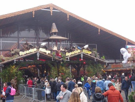 Bavarian Village Entrance Picture Of Winter Wonderland London Tripadvisor