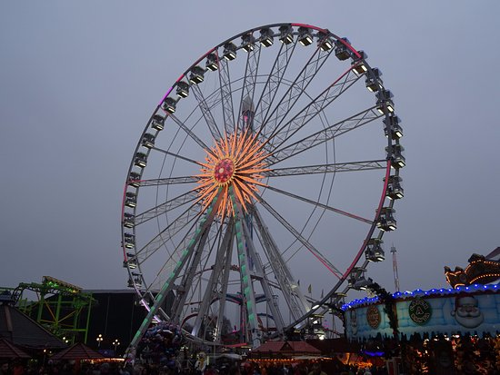 big wheel picture of winter wonderland london tripadvisor