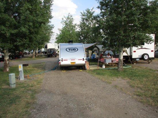 Buffalo, WY: gravel pads
