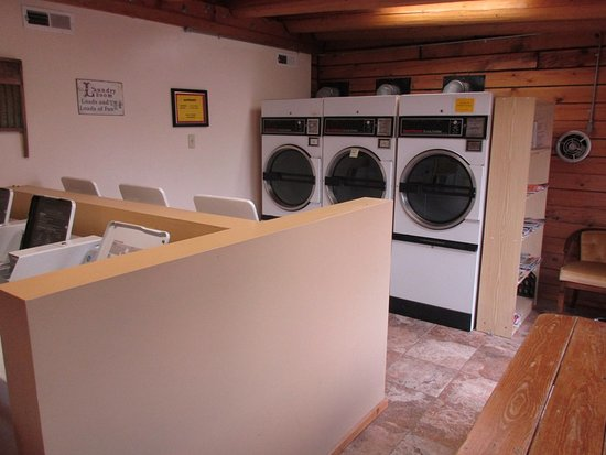 Buffalo, WY: clean laundry facilities