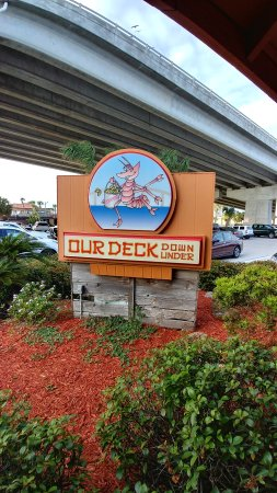 Photo of American Restaurant Our Deck Down Under at 78 East Dunlawton Ave, Port Orange, FL 32127, United States