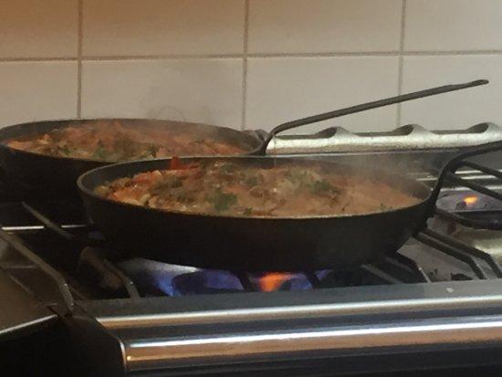 Fontenay-sous-Bois, Francia: Crevettes sur comande ..dans restaurant galaxia 2