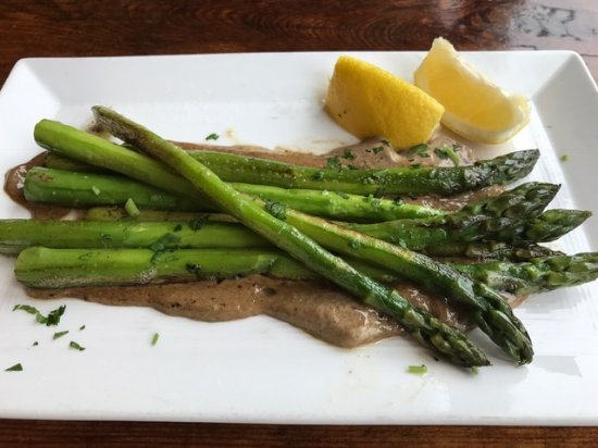 Marshall, Californien: tasty asparagus