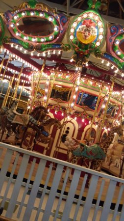 Seaside, OR: love this carousel...so old fashioned and all different animals, not just horses