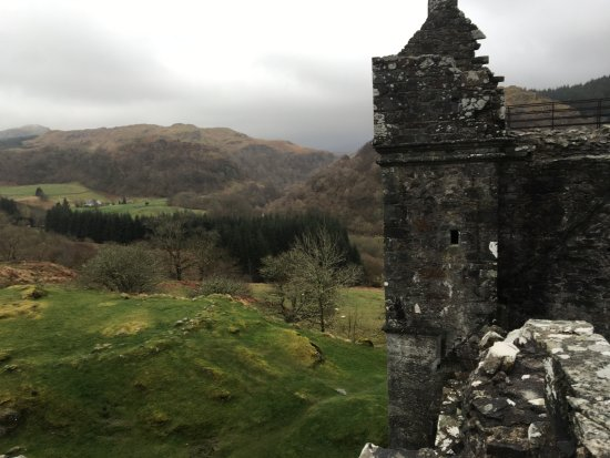 Kilmartin, UK: View from atop Carnasserie Castle