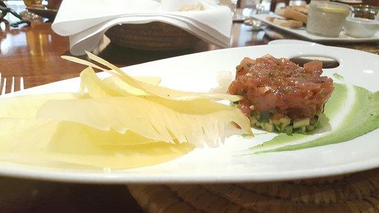 The Brasserie: Tuna Tartare