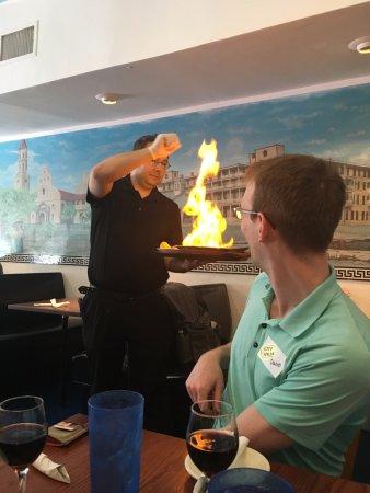 The Savory Faire Food Tour: Athena restaurant