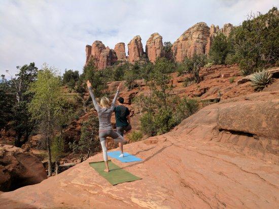 Vortex Yoga Hiking In Sedona - Tours: Vinyasa Flow in nature