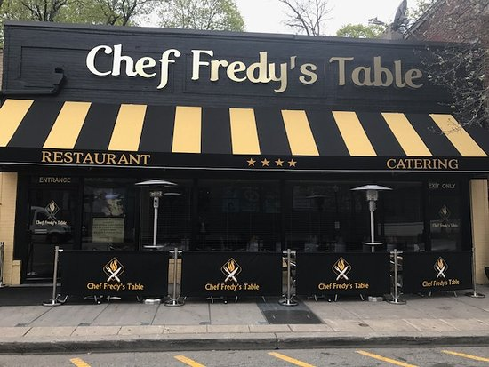 Chef Fredy's Table: Our New Restaurant