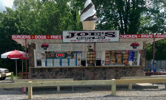 Hopewell Junction, Nova York: Joes dairy bar