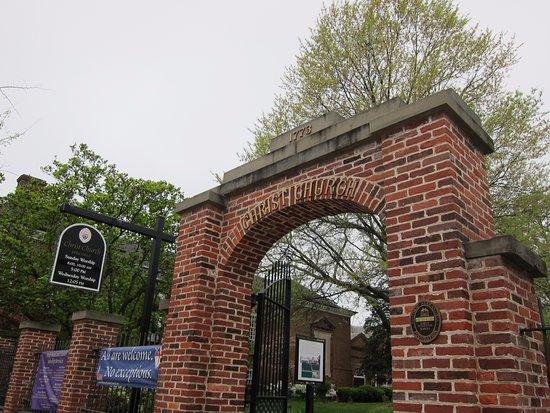 Alexandria, Virginie : N. Washington entrance