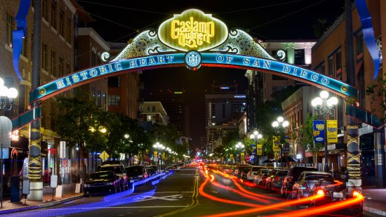 Soleil k: Dinner in the Gaslamp can't be beat!