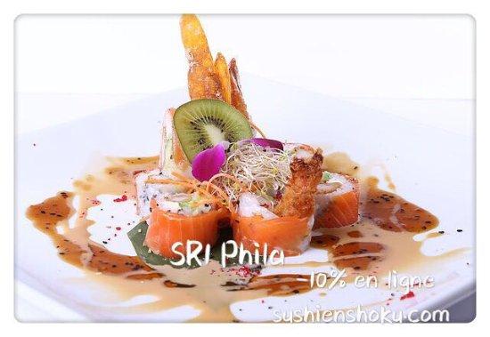Sainte-Therese, Canadá: Les spécialités vous charment, créé par le chef de Sushiman de Sushi Enshoku