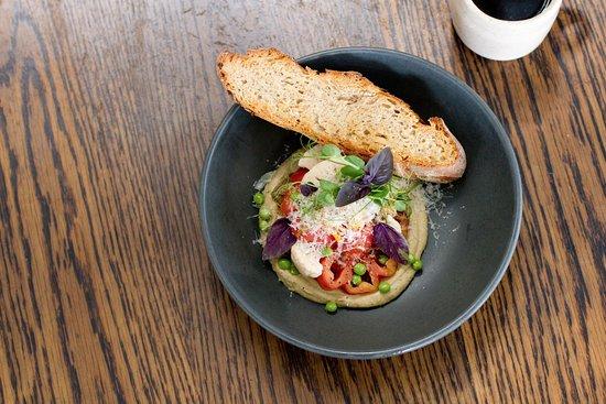Kokako Cafe: Our Heirloom Tomato Dish.