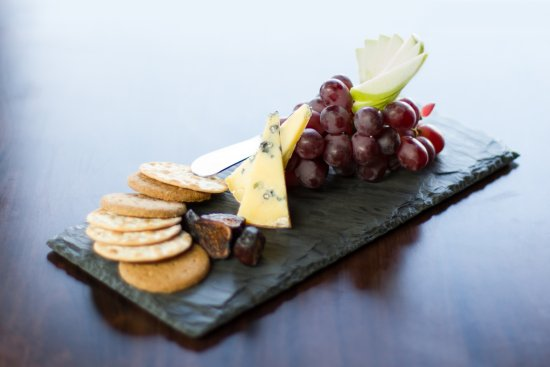 Grayslake, IL: Small cheese plate.