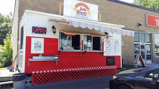 Downtown Julie Brown's Food Trailer, 113 Station St., Belleville, ON @ The Beer Store