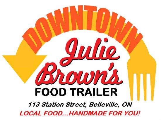 Belleville, Kanada: Downtown Julie Brown's Food Trailer