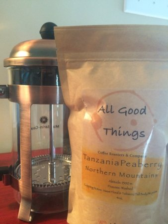 River Pointe Coffee House : Personalize your coffee with a french press