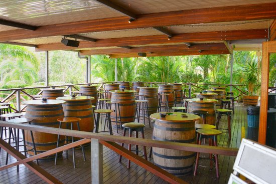 Agnes Water, Australia: Main Bar Smoking Deck