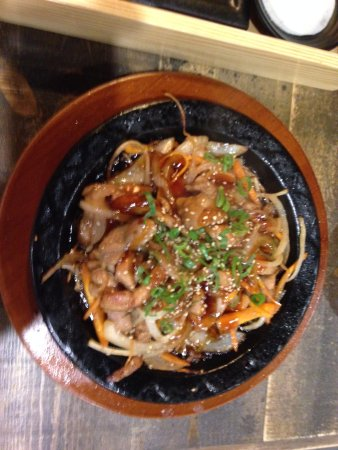 Sizzling chicken teriyaki picture of hansik korean for Asian cuisine willetton