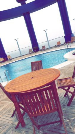 Great hotel if you are looking for a great view and relaxing area in jeddah