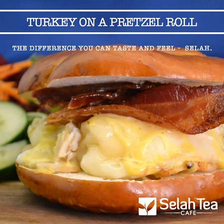 Waterville, ME: Turkey on Pretzel
