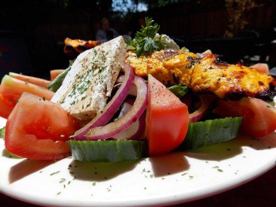 Modesto, CA: Chicken Greek Salad