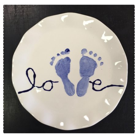 Overland Park, KS: Foot prints (hand prints) = wonderful keepsakes!