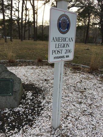 Barnstable, MA: American Legion Plaque