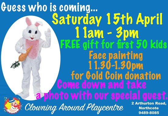 Clowning Around Playcentre: Our Easter Celebrations 2017