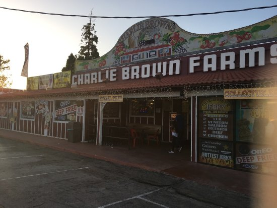 Littlerock, Califórnia: Charlie Brown Farms