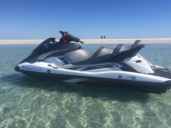 Torquay, Australie : Aquavue's Fraser Island Jet Ski Safaris and Tours, visit the most pristine locations