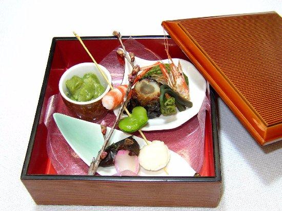 Example of menu appetizer photo de japanese cuisine for Accord asian cuisine menu