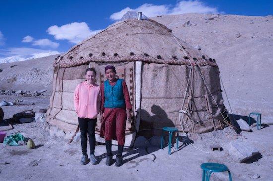 Kashi, China: Staying in a traditional Kyrgyz yurt at Karakul Lake