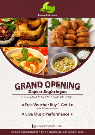West Java, Indonesië: Grand Opening Dapoer Angkringan