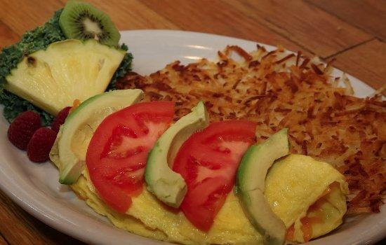 Ashford, WA: Breakfast omlet