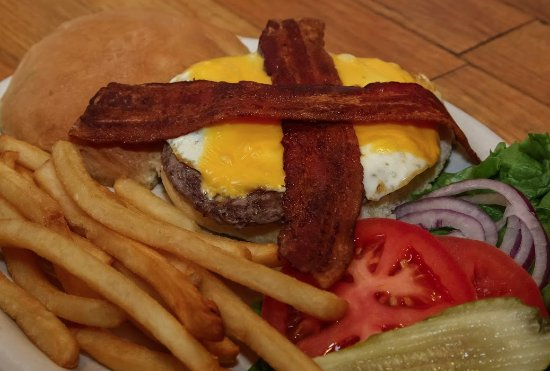 Ashford, WA: Bacon Blue Burger