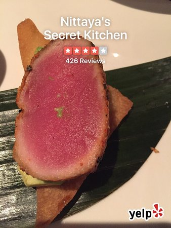 Nittaya S Secret Kitchen Menu Prices