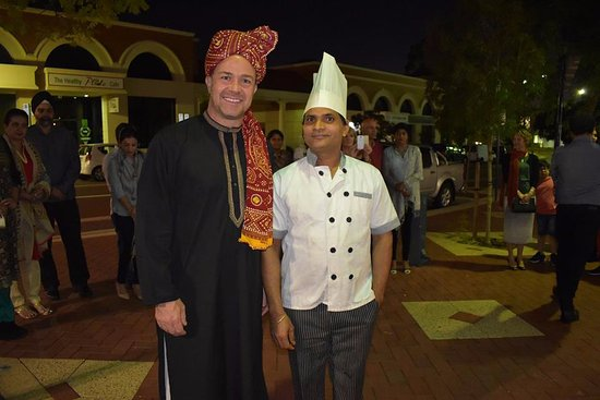 Esteemed Chef of IMLI with Mayor of Joondalup